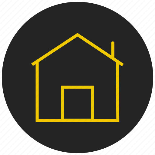 building, cottage, home, home button, homepage, house, property icon