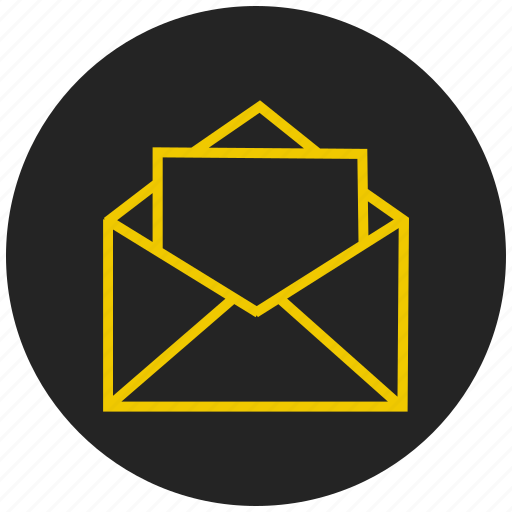 cover, email, envelope, inbox, letter, message, resume icon