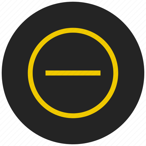 minus, no entry, operator, prohibited, restricted, stop, stop sign icon