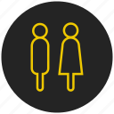couple, family, gender symbol, life partner, male female, pair, romance icon