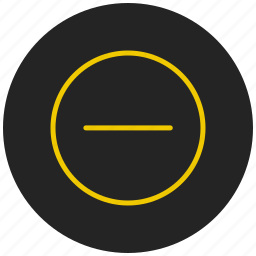 minus, no entry, prohibited, restricted, restricted entry, stop, stop sign icon