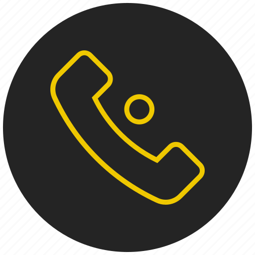 call, contact, in call, phone, received call, telephone icon