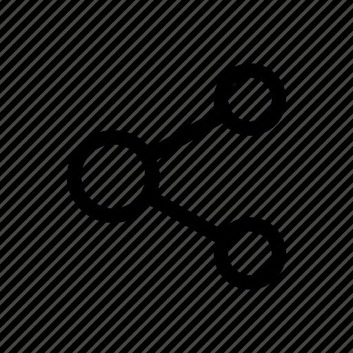 computing, computing share, connectivity, network, share icon icon