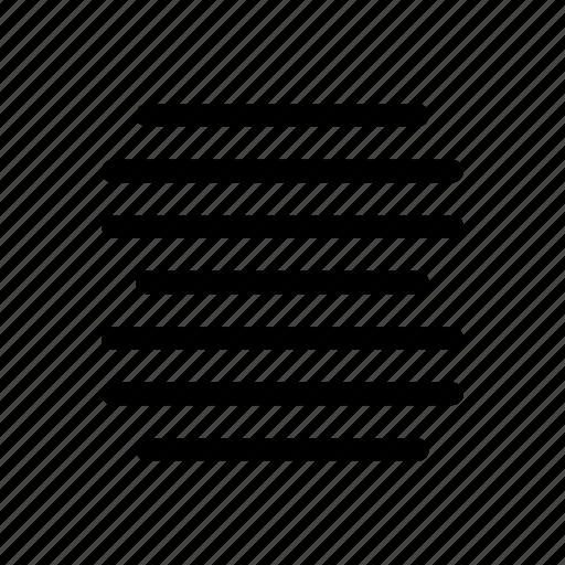 align, alignment, center, text icon icon