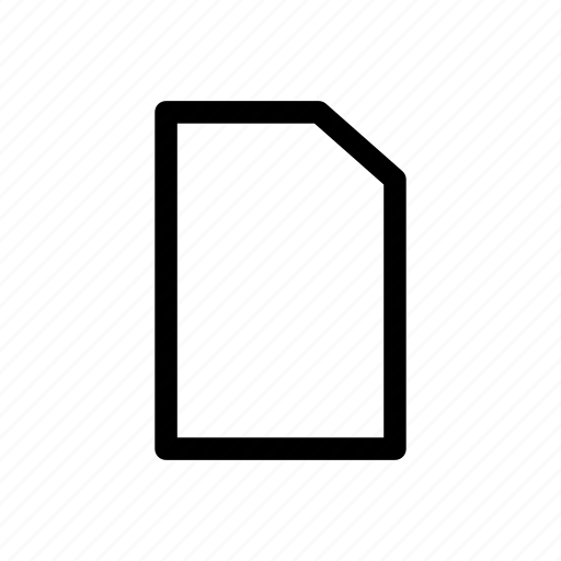 Ducument, file, letter, paper icon icon - Download on Iconfinder