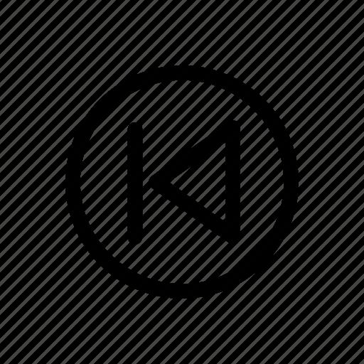 arrow, arrows, back, next, play, system, youtube icon icon