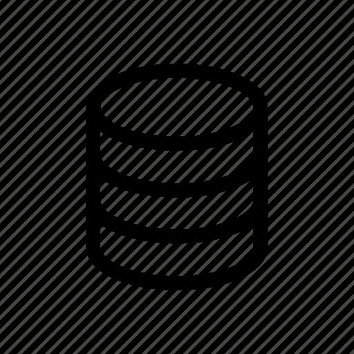 database, server, sql, storage icon icon