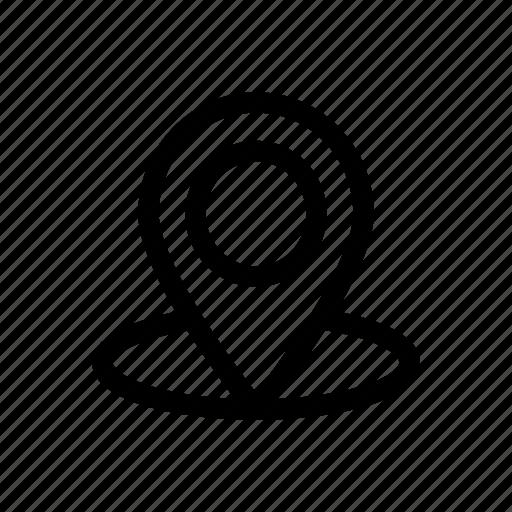 gps, location, locator, navigation icon icon