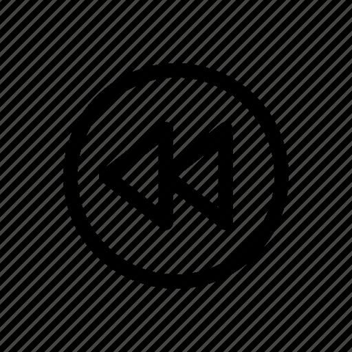 arrow, arrows, left, triple arrows icon icon