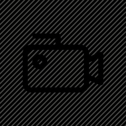 movie, multimedia, video, video camera icon icon
