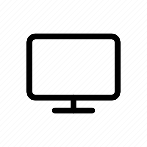 lcd, monitor icon icon