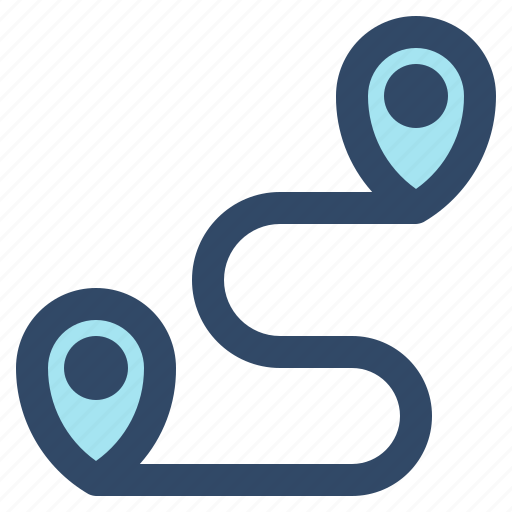essential, interface, location, map, route, ui, user icon