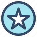 essential, favorit, interface, medal, star, ui, user icon