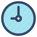 alarm, clock, essential, interface, time, ui, user icon