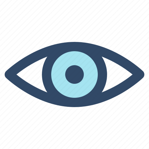 essential, eye, interface, ui, user, view, visions icon