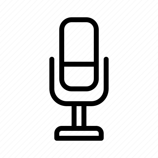 Audio, essential, mic, microphone, record, speech, talk icon - Download on Iconfinder