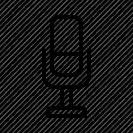 audio, essential, mic, microphone, record, speech, talk icon