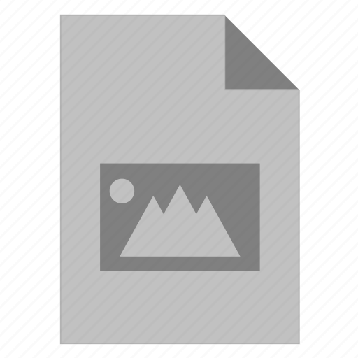document, extension, file, format, image, photo, picture icon