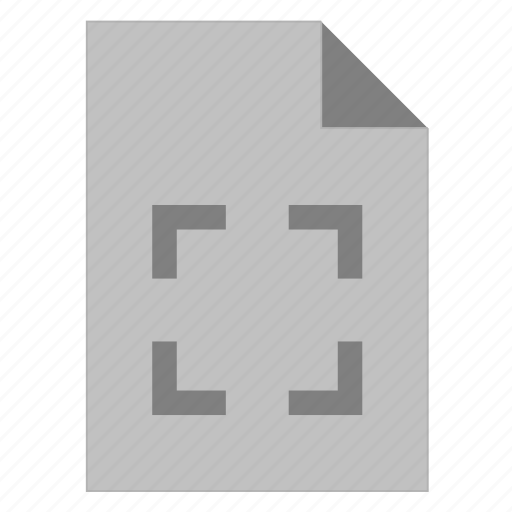 Crop, document, extension, file, filetype, format, type icon - Download on Iconfinder