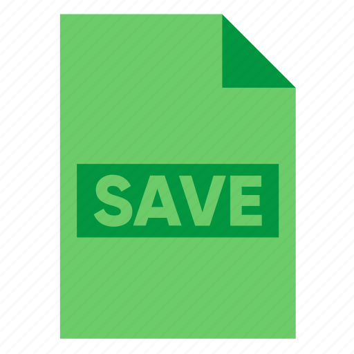 document, extension, file, filetype, format, guardar, save, type icon