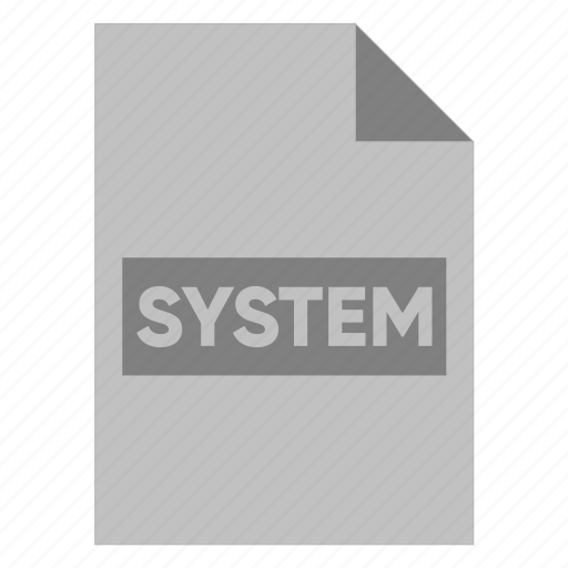 document, extension, file, filetype, format, system, type icon