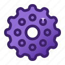 avatar, gear, internet, mobile, ui