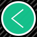 back, left, menu, nav, navigation icon