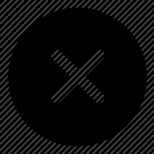 close, interface, ui, user, web, website, x icon