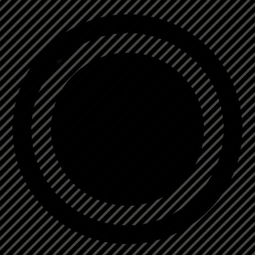 navigation, radio, selected, ui, website icon