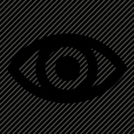 eye, navigation, security, ui, user interface, web icon