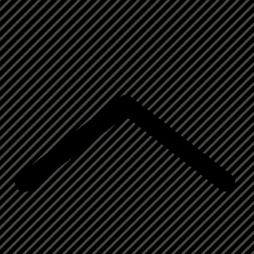 arrow, nav, navigation, ui, up, website icon
