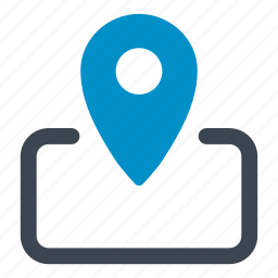 delivery, direction, location, map, navigation, place, pointer icon