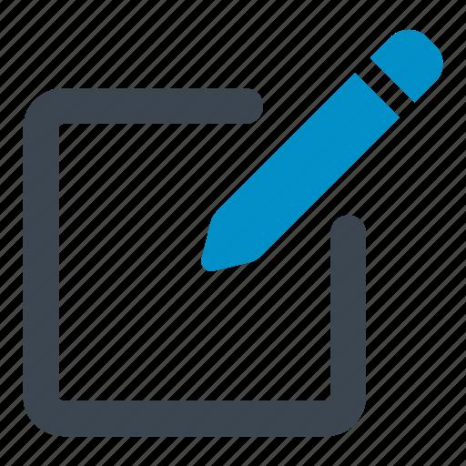 archive, document, edit, interface, pen, pencil, write icon