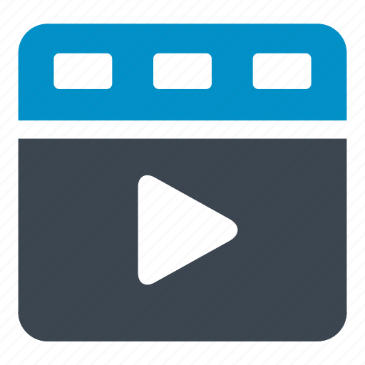 cinema, film, filming, motion, moving, play, video icon