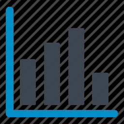 ascendant, bars chart, camparison, define, graph, measure, stats icon