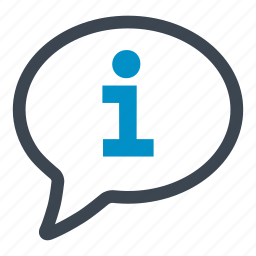 conversation, help, info, information, research, serious, speech bubble icon