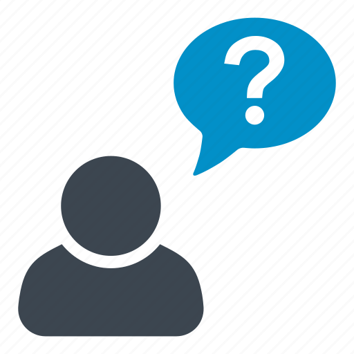 help, how often, question, user profiles, user questions, when, which one icon