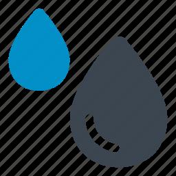 drizzle, mistnature, paint drop, rain, rain drop, water drop, water droplet icon