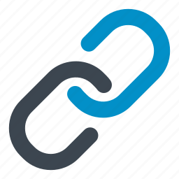 chain, chained, connection, coupled, link, linked, together icon