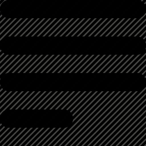 align, align left, alignment, text, wysiwyg icon
