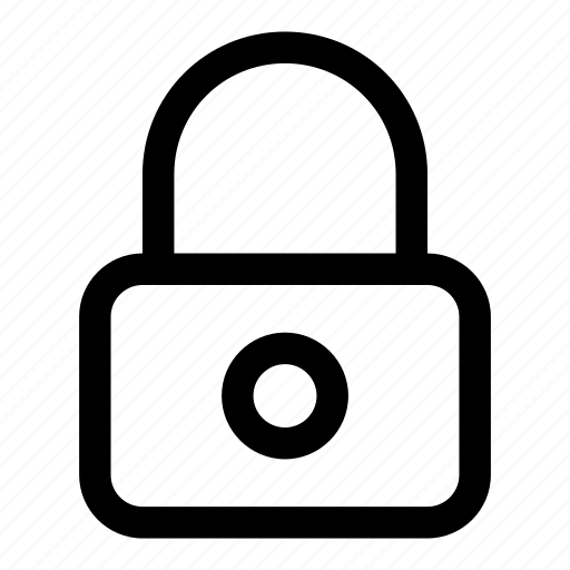 lock, modern, security, unlock icon