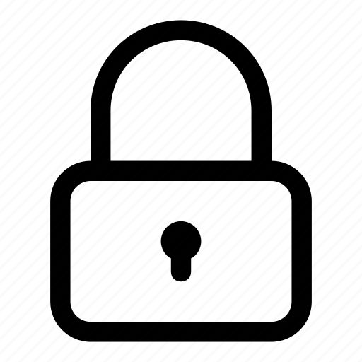 lock, normal, password, security icon