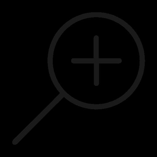 app, mobile, plus, search, ui, web, website icon