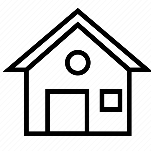building, estate, home, house, property, real, ui icon