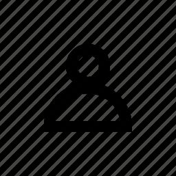 account, avatar, human, people, profile, user icon