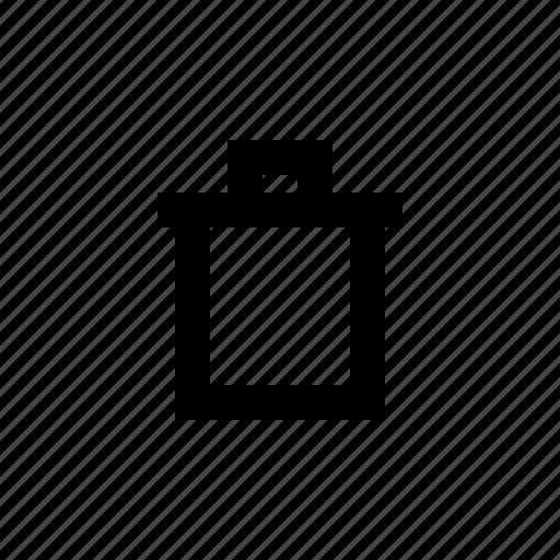 bin, cancel, dust bin, recycle bin, remove, trash icon