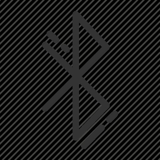 bluetooth, ui, ux icon