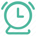 alarm, bell, clock, ring, time, ui, wake icon
