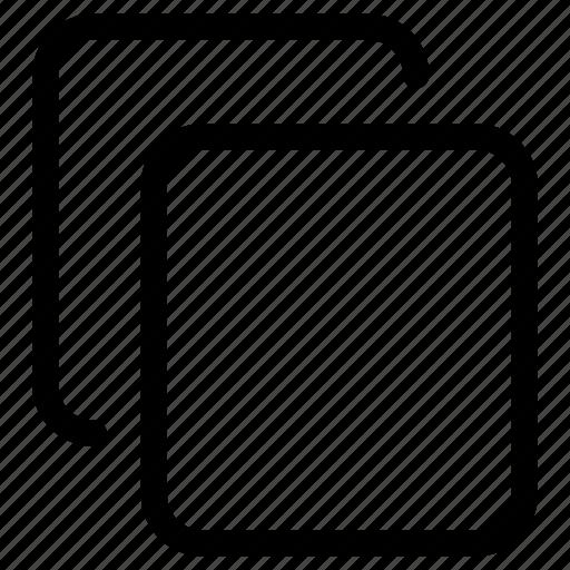 clipboard, copy, cut, documents, duplicate, files, paste icon