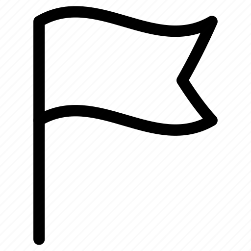 banner, flag, notice, notification, tag, warning icon